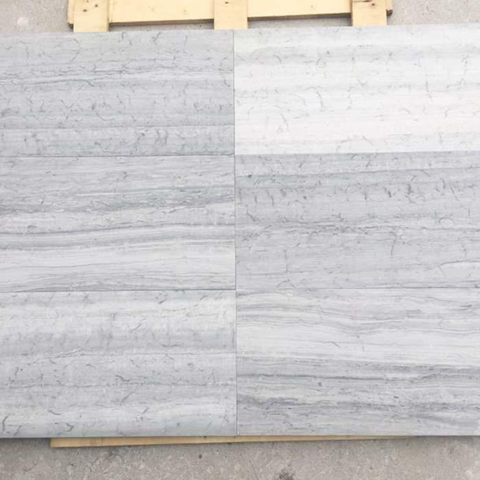 Blue Woodveins Marble Tile