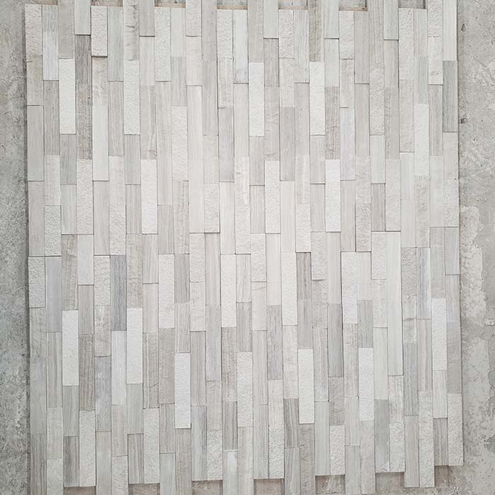 Woodvein Ledgestone Mixed Finishes