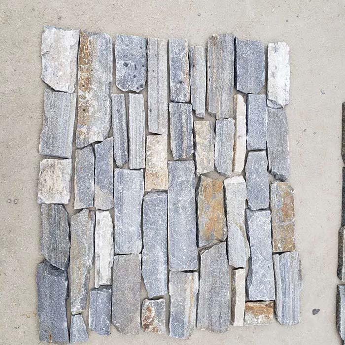 Blue Quartzite Ashlar Thin Stone Veneer