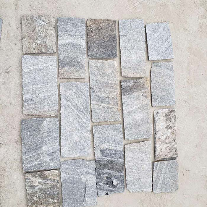 Grey Quartzite Thin Stone Veneer