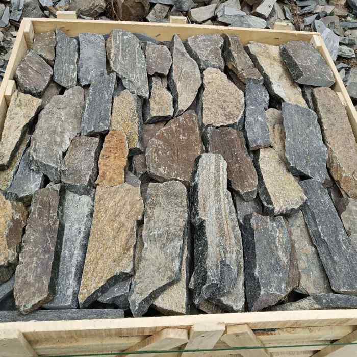 Dark Rock Thin Stone Veneer